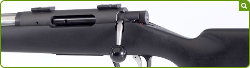 A genuine left-handed hunting rifle