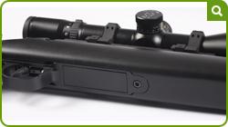 Interceptor Multi-shot showing 3 round magazine fitted
